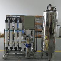 华兰达承接来宾金秀桶装水厂 矿泉水净化系统工程 UF超滤设备出水稳定