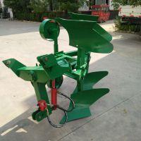 鲁丰农用拖拉机带液压翻转犁-加重型深耕犁地机价格