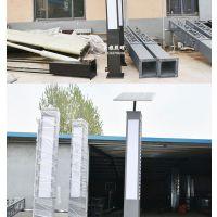 厂家定制太阳能景观灯庭院灯路灯方形户外照明景观灯不锈钢