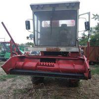 喂养饲料粉碎青储收割机 腾信机械厂家生产大型玉米秸秆青储机