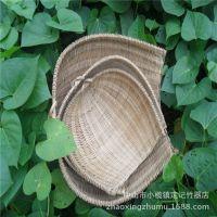 供应批发  竹制品 竹编织  无孔竹筛 竹篮 竹簸箕