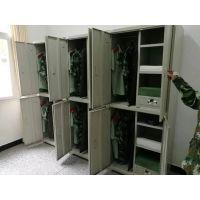 重庆储物柜 钢制 员工宿舍铁皮柜 铁柜厂家直销