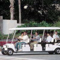 ClubCar L8电动车摆渡接待车房产楼盘看房车绿色能源电瓶车八座