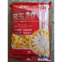 大田玉米种子 名玉20籽粒黄色  马齿形 果穗圆筒形 穗长18-22厘米