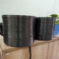 苏州28#黑色结束带厂家 吴江哪里有卖黑色PE结束带 纸箱捆扎包装绳