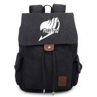 妖精的尾巴公会标志帆布双肩包背包动漫周边书包旅行包