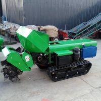五大工具配套使用的田园管理机 果园履带式开沟机多用途 施肥回填除草一体机