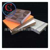 广东厂家直销建筑沙盘模型材料 防火PVC板发泡板 隔热雪弗板材料贴膜塑料板雕刻加工