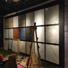 600瓷砖冲孔板 800地砖冲孔板货架 地砖展示架网孔板