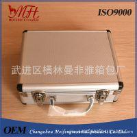 厂家定做多功能铝箱、银色圆包角铝合金工具箱、定制各种尺寸箱子