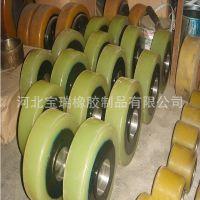 厂家直销 包胶辊轮 聚氨酯包胶轴承 PU包胶滚轮  聚氨酯包胶加工