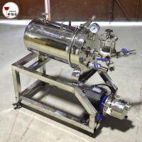 硅藻土过滤器 酒类过滤器白酒红酒葡萄酒过滤/过滤机泵一体机