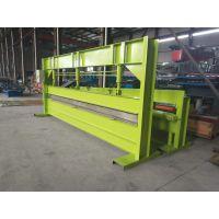 地鑫出售液压剪板机 4米液压手动折边机 简易折弯机