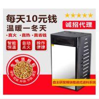 厂家直销生物质颗粒采暖炉环保无烟成本低