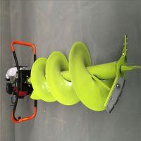 树苗挖穴机/香蕉树种植直径15厘米汽油打孔机