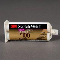3M DP100环氧胶粘剂超透明,可进行快速,精确的点胶,并有3至5分钟的活性期可重新定位