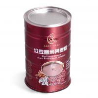 厂家直销  红豆薏米粉铁罐 蛋白粉铁罐 三七粉包装罐定制