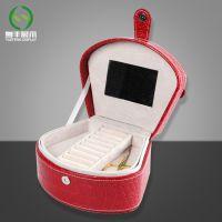 东莞厂家定做木质首饰盒 品质款天然木材皮面收纳盒工艺品展示盒