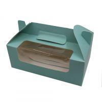 手提西点纸盒牛皮纸礼盒牛皮纸烘焙包装盒折叠食品包装纸盒定做
