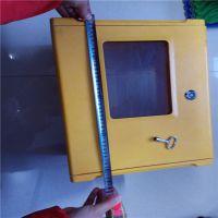 玻璃钢燃气表箱 安装简单牢固 冀州亿恒
