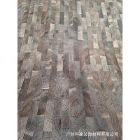 伊美家防火板2014024锯木拼块拼色拼花纹木纹耐火板贴面胶合板