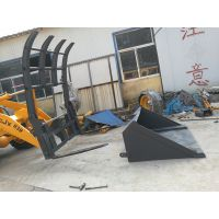 销售青州鲁装/青州山工/齐鲁装工939抓子垃圾斗一体装载机