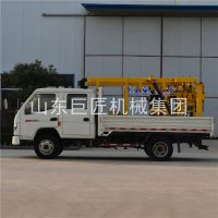 巨匠集团供应200型汽车水井钻机大型车载液压钻井机行走方便