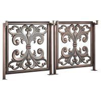 厂家定制 安全护栏铝合金楼梯扶手 别墅阳台铝型材栏杆围栏
