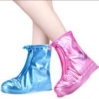 利雨防雨鞋套非一次性防水鞋套加厚雨靴套防滑耐磨 男女时尚户外透明雨鞋套