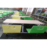 龙岗饭堂快餐桌椅|学校食堂餐桌椅厂家