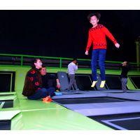 甘肃平凉超级大蹦床产品公司 庆阳好玩的大型游乐厂 陇南室内淘气堡弹跳蹦床公园馆 幼儿园悬浮地板价格