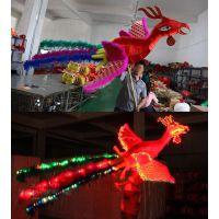 灯光凤凰 舞龙舞狮 民间工艺品舞凤凰道具正月十五闹大型花灯