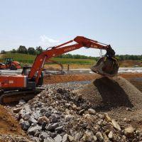新式改良洗砂机,挖机滚筒筛沙机,环保型洗沙斗
