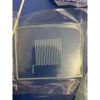 激光切割开孔划线挖槽精密加工导电玻璃片