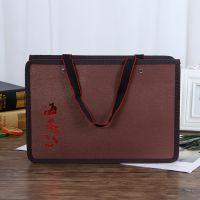 订做创意广告礼品包装手提袋定制logo 商务印花皮革无纺布手提袋