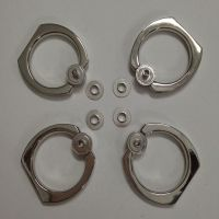直销手机支架金属指环扣配件,锌合金指环扣配件 手机支架配件