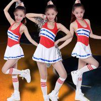2017新款儿童啦啦操队表演服舞蹈裙演出服装少儿现代舞女童舞台服
