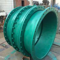西安国安大口径管道防沉降D型钢制大挠度松套伸缩接头