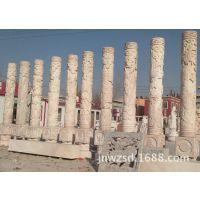 户外大理石石柱雕刻图片 室内装修大理石罗马柱多少钱一根