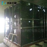 搪瓷水箱 装配式消防Q235钢板水箱 加工浴池用保温供水设备