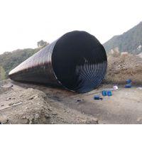 大口径钢波纹涵管 分片拼装波纹钢板 市政管涵加固 隧道维护排水
