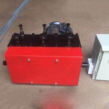带变频的钢绞线穿束机 百一牌钢绞线穿线机 小型穿线机