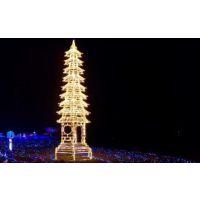 巨旗展览灯光节-城市建筑系列