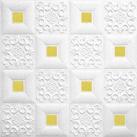 欧式软包欧式方格立体软包电视背景墙自粘创意墙贴寝室卧室墙纸