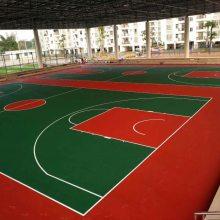 户外球场地胶-篮球场地板胶-南宁丙烯酸地胶地垫