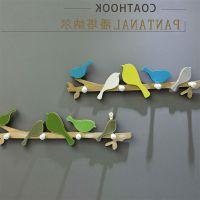 美式木质壁挂挂钩儿童房装饰挂件墙挂 创意挂钩衣服挂架
