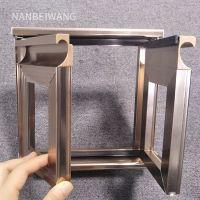 橱柜材料 隐框拉手 铝合金型材 门料 威法同款铝型材拉手