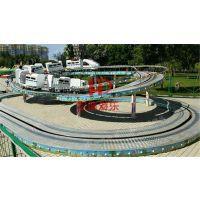 迷你穿梭 广场生意好人气旺轨道类游乐设备儿童爬山车郑州宏德游乐定制