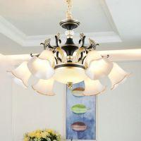 客厅灯 大气水晶吊灯 餐厅吊灯简欧卧室灯锌合金灯具灯饰