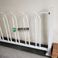 定制道路交通中央隔离栏 圆钢U型市政京式护栏